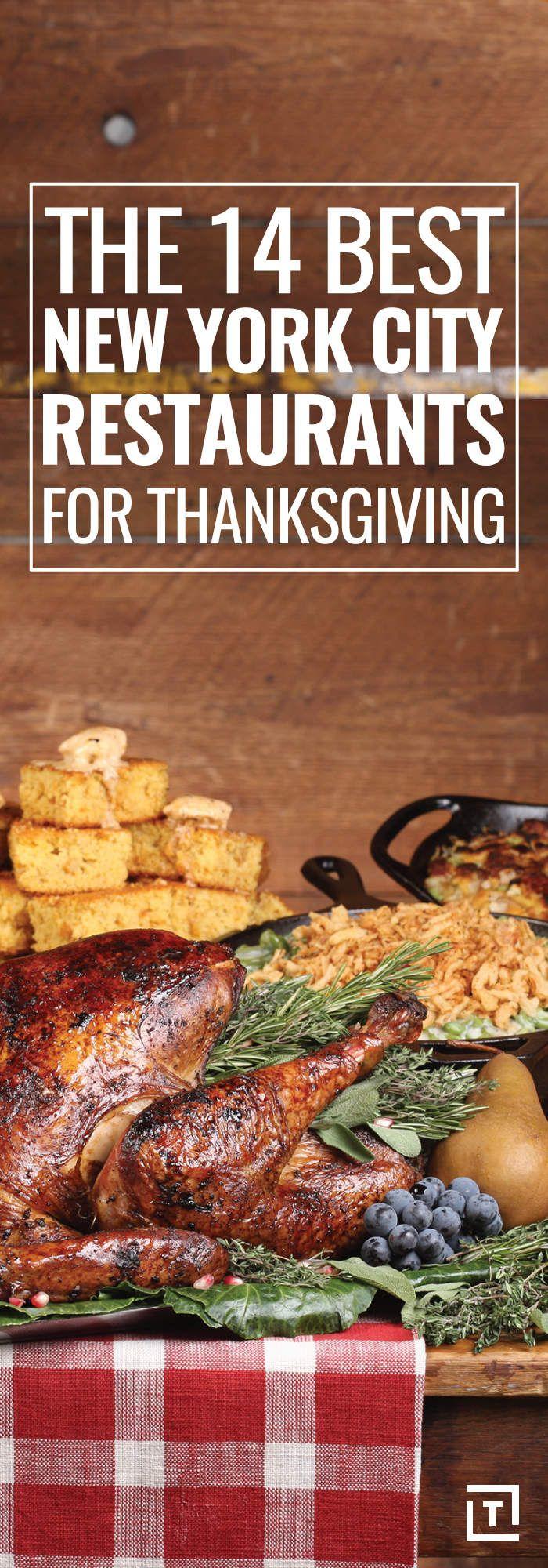 The 14 Best NYC Restaurants for Thanksgiving Dinner