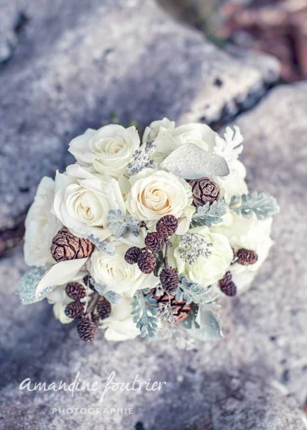 1000 Id Es Sur Le Th Me Bouquets De Mari E En Hiver Sur Pinterest Bouquets De Marriage