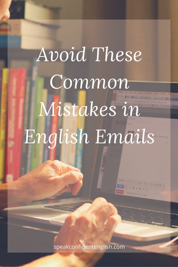 Writing emails in English can be stressful but it doesn't have to be. Learn to avoid the most common mistakes in English emails and always look professional. via @spkconfidenteng
