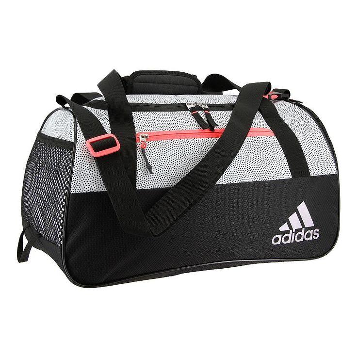Adidas Squad III Duffel Bag, White
