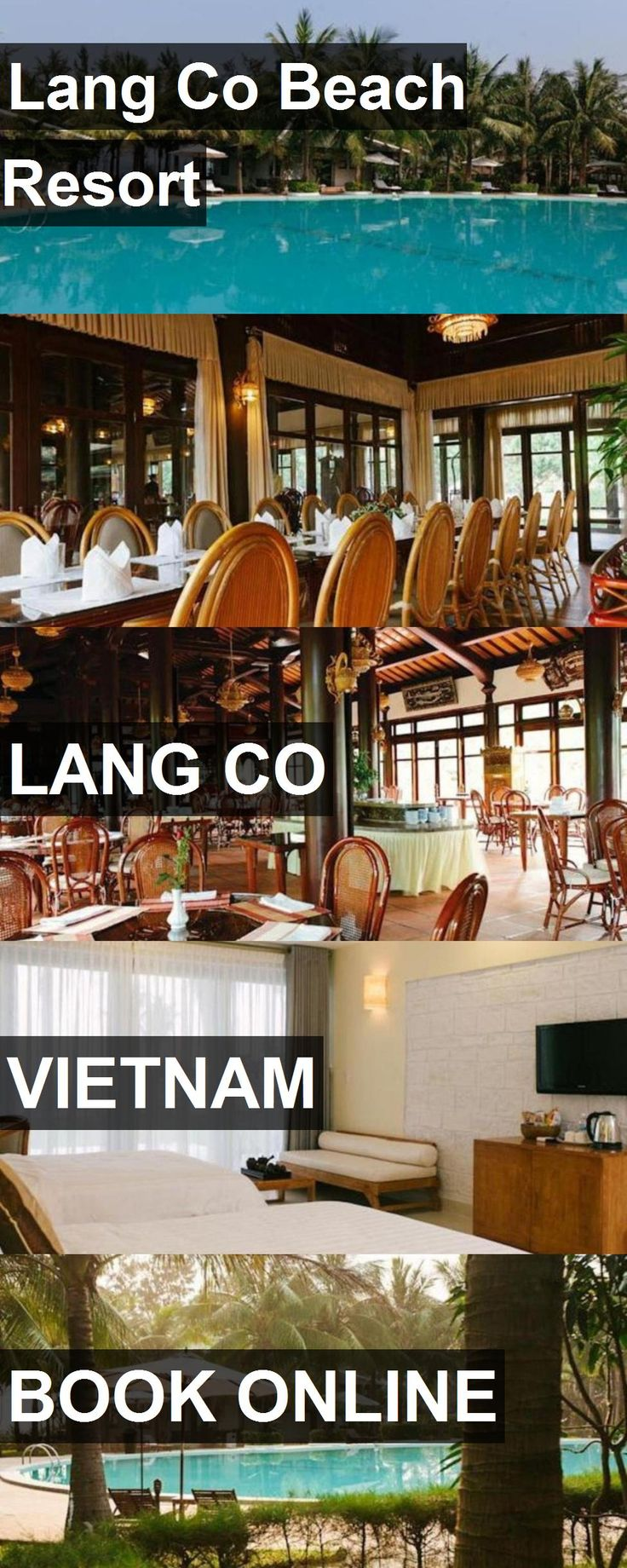 Hotel Lang Co Beach Resort in Lang Co, Vietnam. For more information, photos, reviews and best prices please follow the link. #Vietnam #LangCo #travel #vacation #hotel