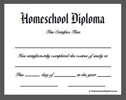 homeschool diploma - Google Search