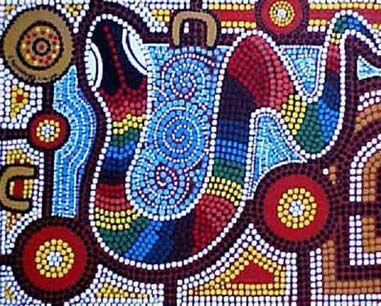 lost aboriginal art | The Rainbow Serpent of Australia - Paranormal Ocean