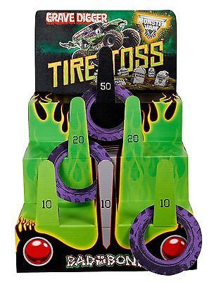 Party Games and Activities 102411: Monster Jam Party Supplies - Ring Toss Game -> BUY IT NOW ONLY: $32.39 on eBay!