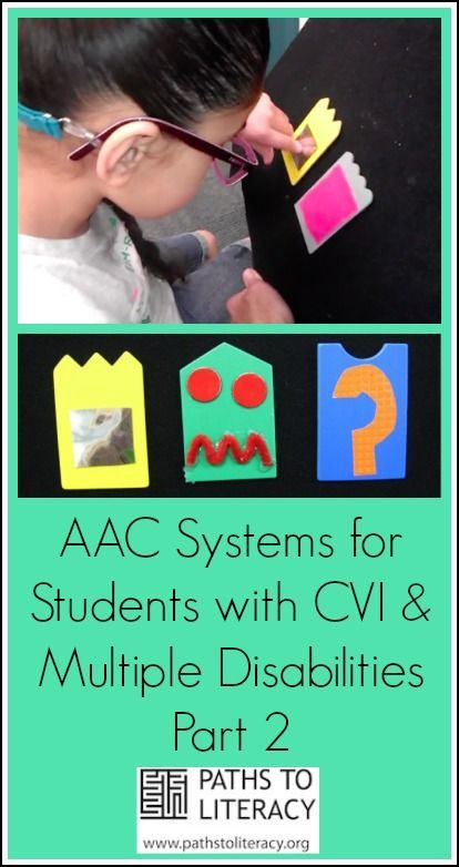 aac systems for students with cvi and multiple disabilities collage