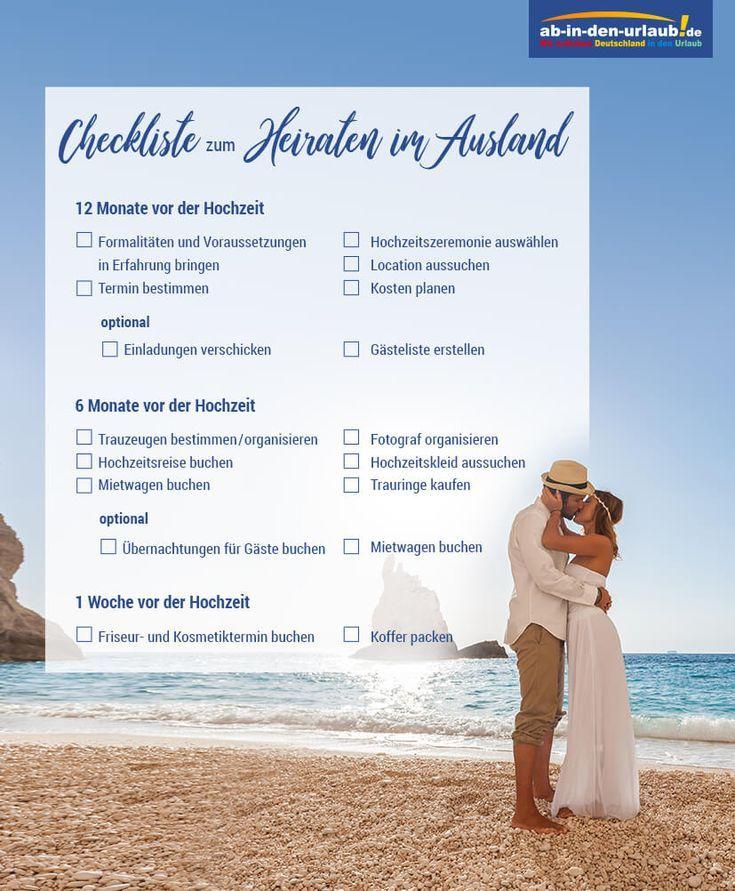 Heiraten Im Ausland Ratgeber Mit Checkliste Fur Paare Heiraten Im Ausland Hochzeit Im Ausland Hochzeit Las Vegas