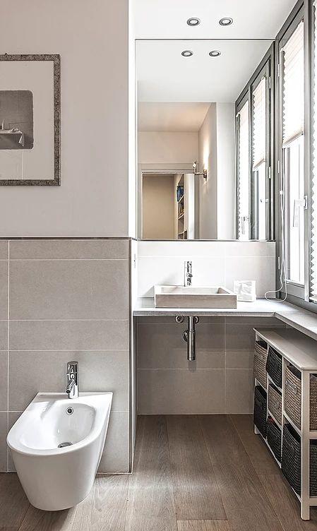 BRANDO concept  | 66 mq bagno piccolo poco spazio interior design bathroom