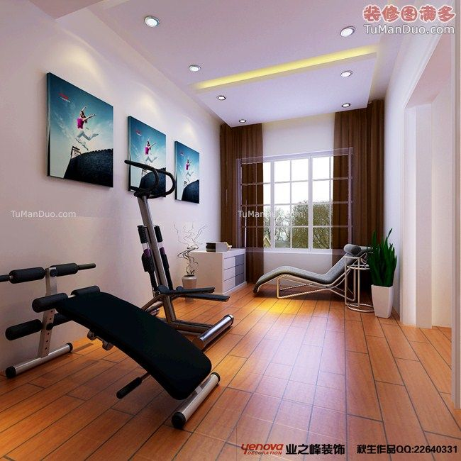 23 best images about home gym on pinterest Home fitness room design ideas