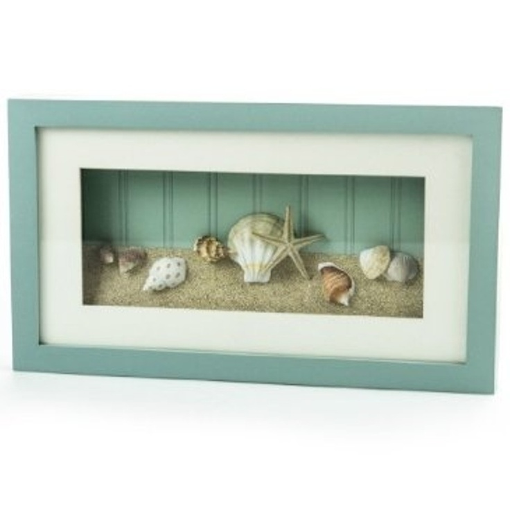 Beach Theme Home Decor Shadow Box Beach Gift: 17 Best Ideas About Seashell Shadow Boxes On Pinterest