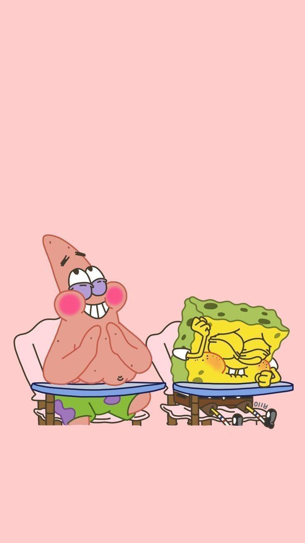 IPhone-Hintergründe – SpongeBob Patrick 750 * 1334: Blog Naver – #Blog #iPh …