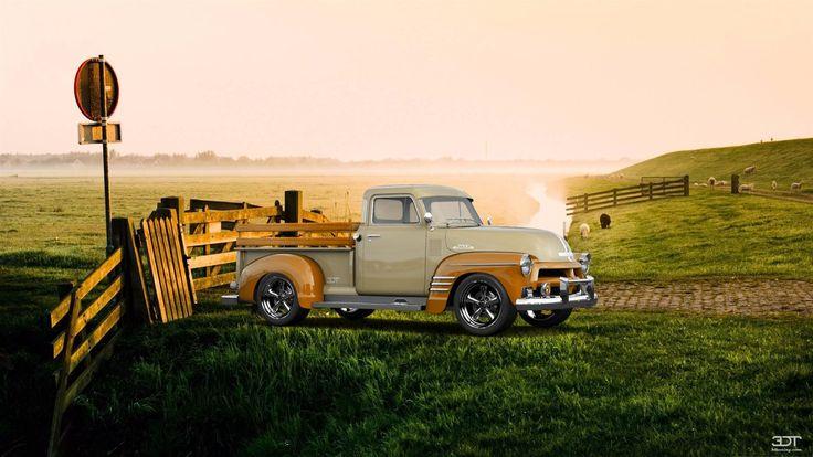 Chevrolet 3100 1954 3DTuning