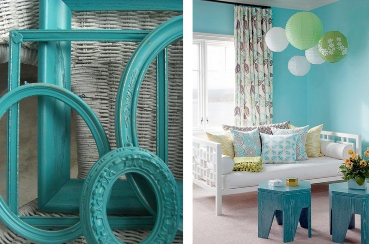 According to Feng Shui, turquoise or aqua can be used as blue or green to affect…