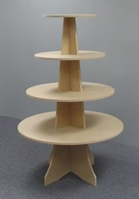"""36"""" x 54"""" High Tiered X-Base Table"""