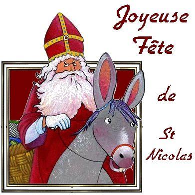 Cybercarte Joyeuse fête de Saint Nicolas