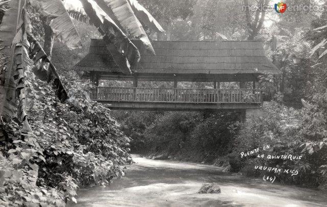 Puente en la Quinta Ruiz