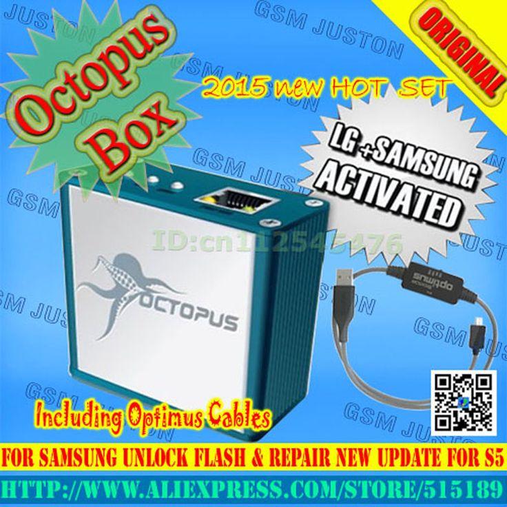 מקורי תמנון box הופעל מלא עבור כבלים, כולל optimus lg ועבור samsung 19 כבל הנעילה flash & תיקון סט כלי