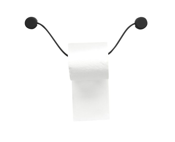Toilet Paper Holder by Kontextur