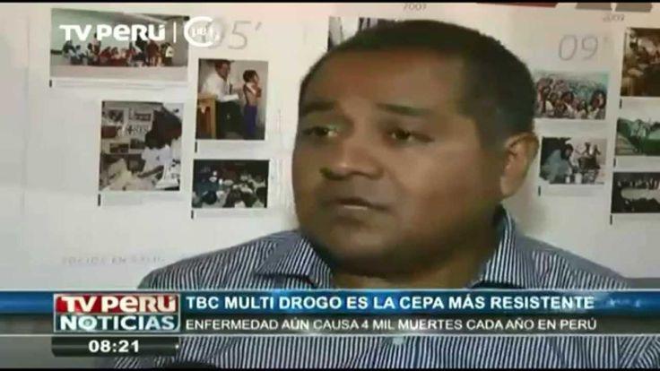 #Entrevista de #TVPerú al Dr. #LeonidLecca - Director General de #SociosEnSalud Sucursal #Perú para conocer el #trabajo que realiza nuestra #ONG en temas de #tratamiento y #prevención de la #tuberculosis.