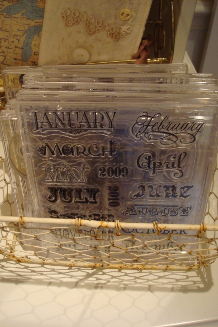 Clear cd cases.. for stamp storage