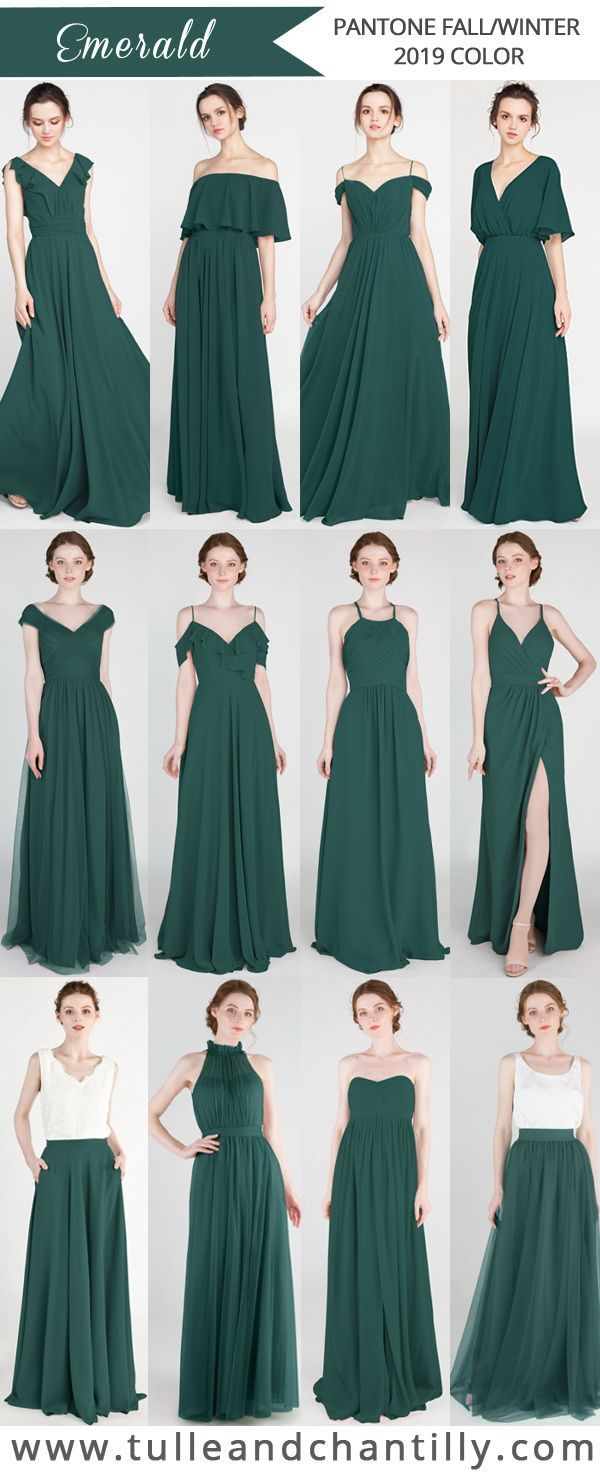 Long Short Bridesmaid Dresses 79 149 Size 0 30 And 50 Colors Emerald Bridesmaid Dresses Fall Bridesmaid Dresses Green Wedding Dresses [ 1478 x 600 Pixel ]
