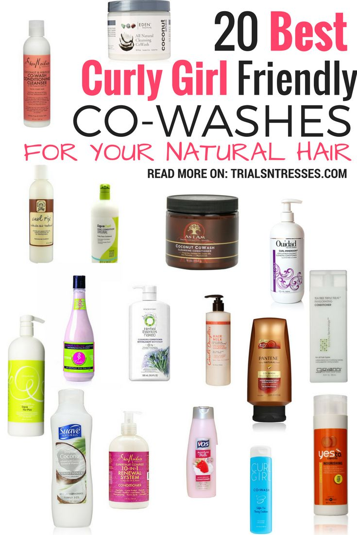20 Best Curly Girl Friendly Co-Washes For Your Natural Hair