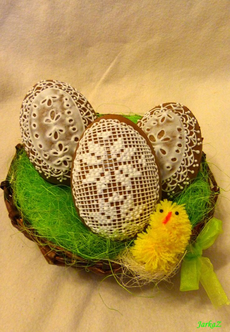 Easter Egg 3D gingerbread - veľkonočné vajíčka 3D - medovníčky