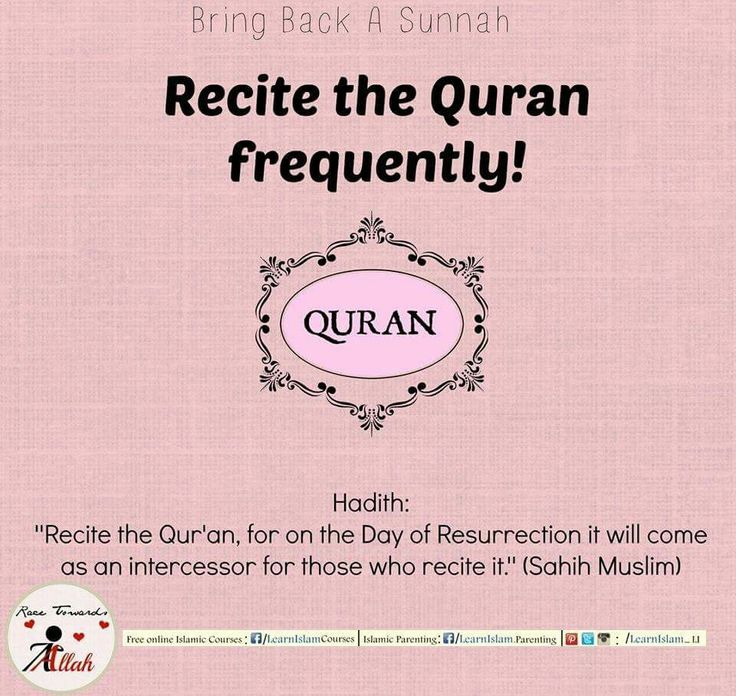 Food for the Soul... Protection on the Day of Reserruction!  #recite #quran #regularly #day #Resurrection #intercessor #reward #energize #soul #protection #sunnah #revive #hadeeth #learnislam