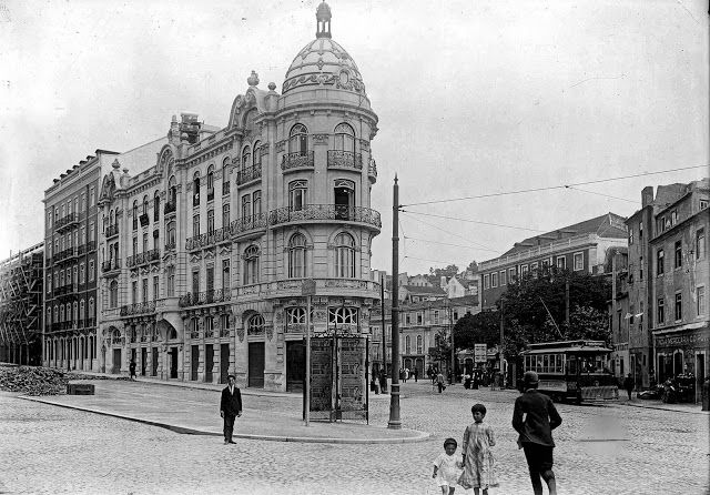 Avª Almirante Reis/Largo do Intendente - 1908