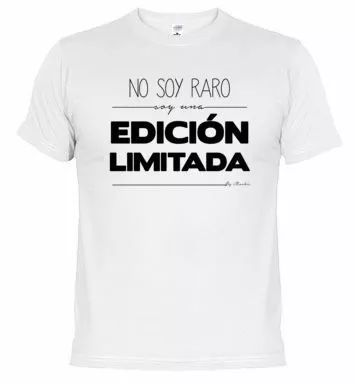 camisetas con frases personalizables