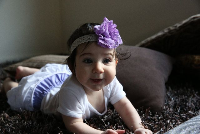 baby flower lace  headband. lace ruffle butt nappy cover