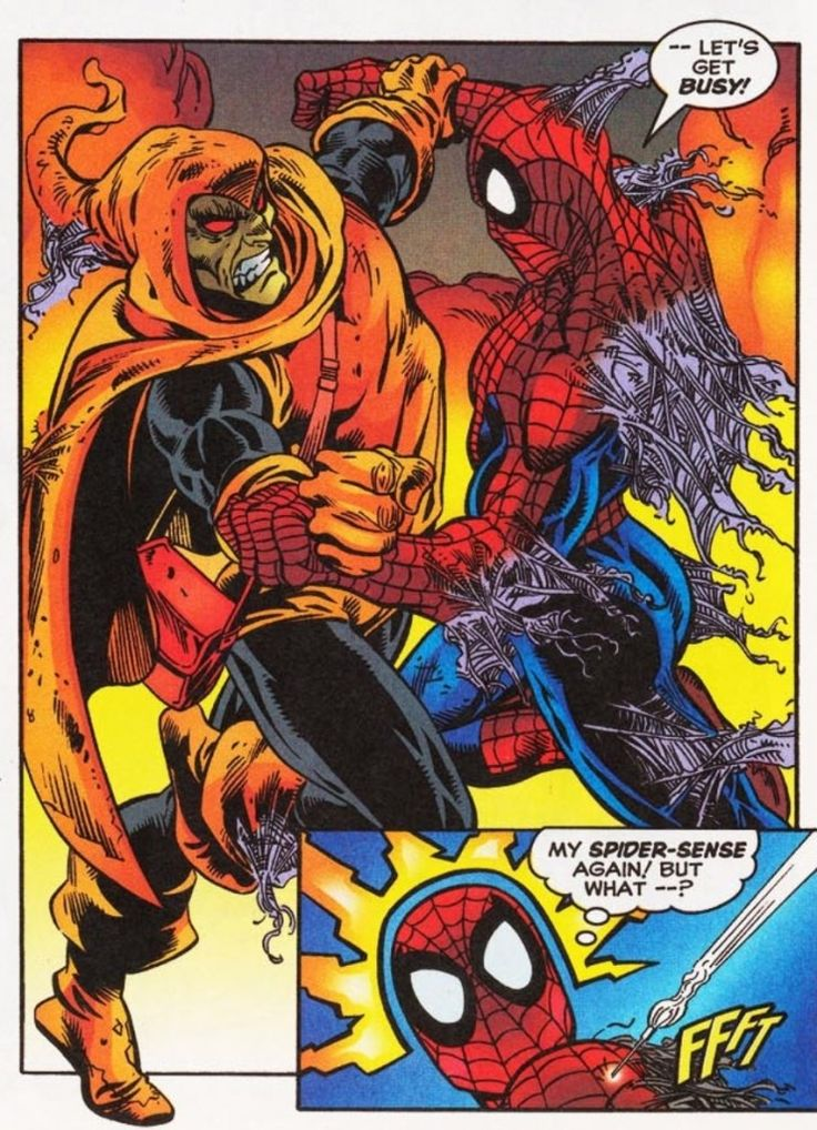 Timeline of Events in SpiderMan Comics  19632012
