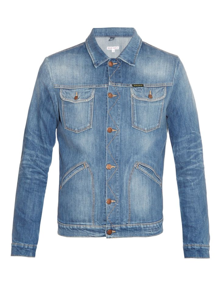 Patch-pockets denim jacket | Michael Bastian