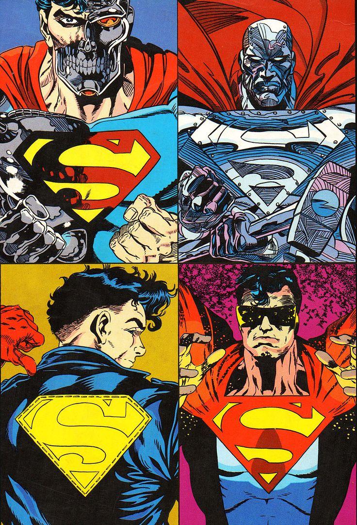 Parece que é hora dos reservas entrarem em cena antes da estréia da Liga.#cyborg #steel  #superboy #eradicator #superman