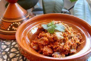 Ensalada Marroquí de calabacín y berenjena Thermomix