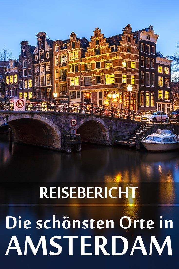 Amsterdam: Reisebericht mit allen Sehenswürdigkei…