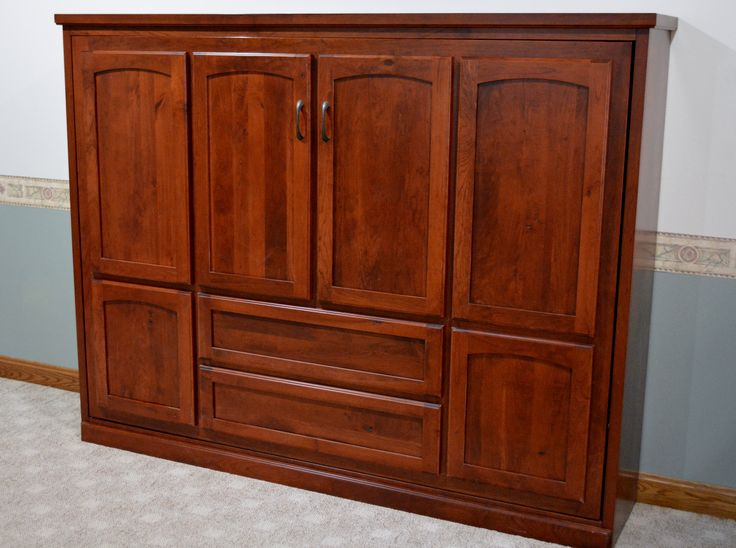 Full Size Horizontal Murphy Bed Closed Our Murphy Beds