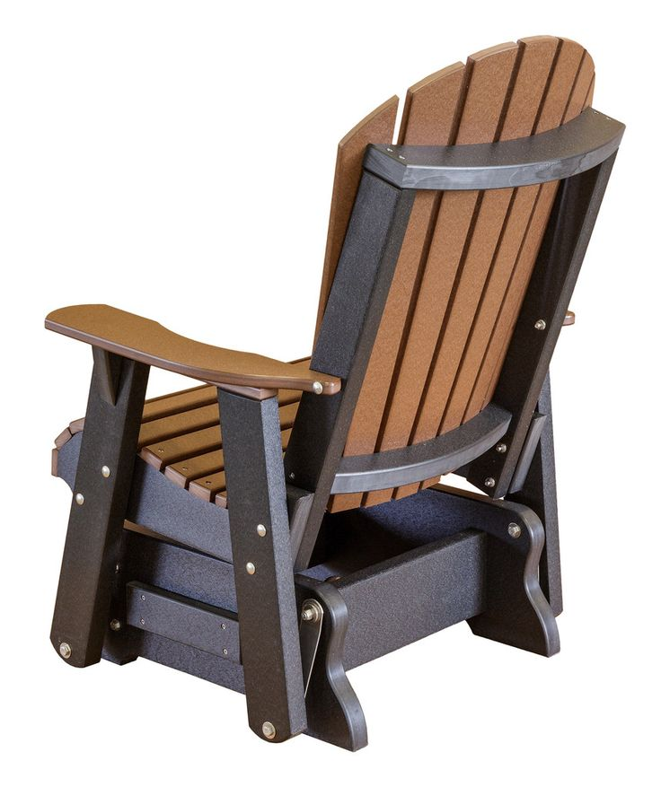 Heritage Poly Lumber Single Rocker Glider By Little