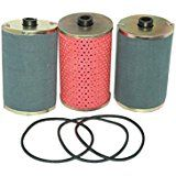 Cheap Enfield County 3 Units Diesel Fuel Filter/Strainer With Rubber Ring For JCB 3CX 3DX deals week