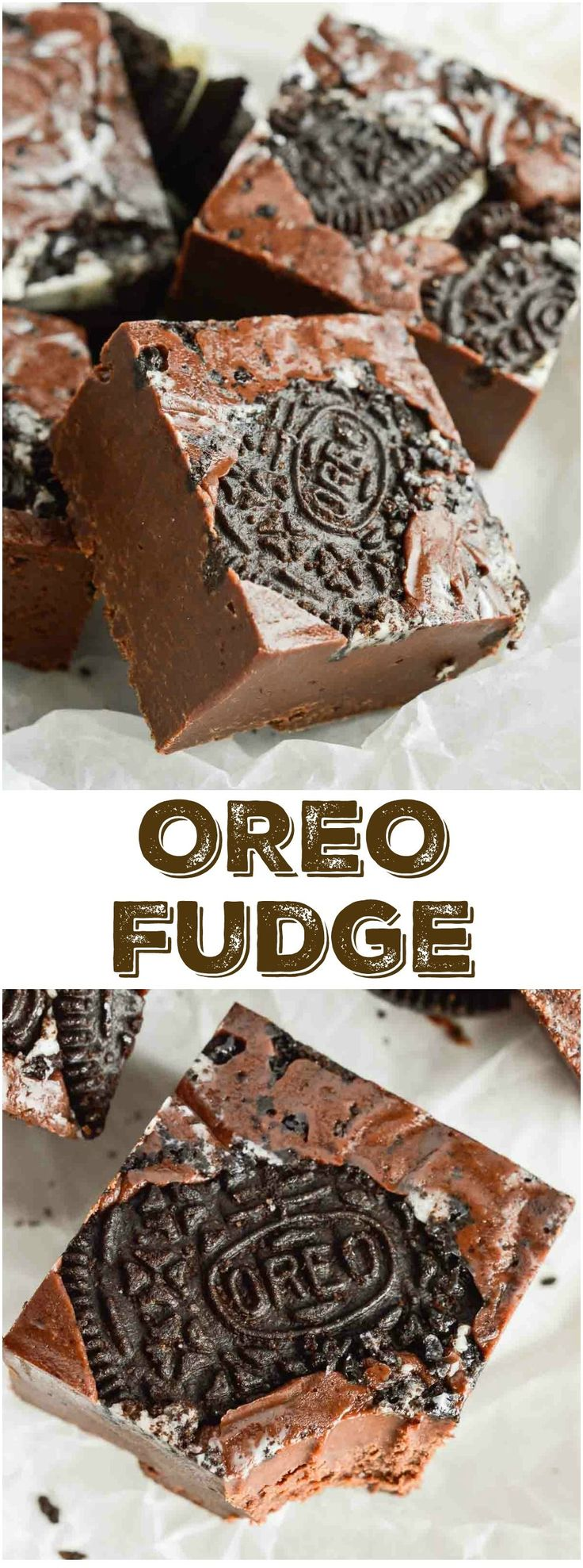 Easy Oreo Microwave Fudge takes 10 minutes to prep and tastes Unbelievable! Perfect for those chocolate cravings or as a homemade holiday gift idea. #fudge wonkywonderful.com