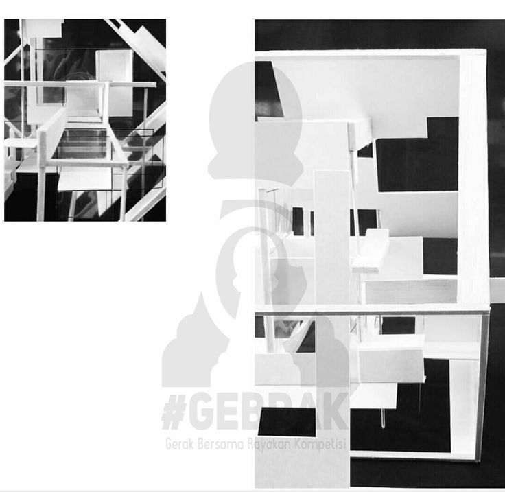 Grid Transformation 2/3_Group 4 (Peter Eissenman's House three)_Arsitektur 2014