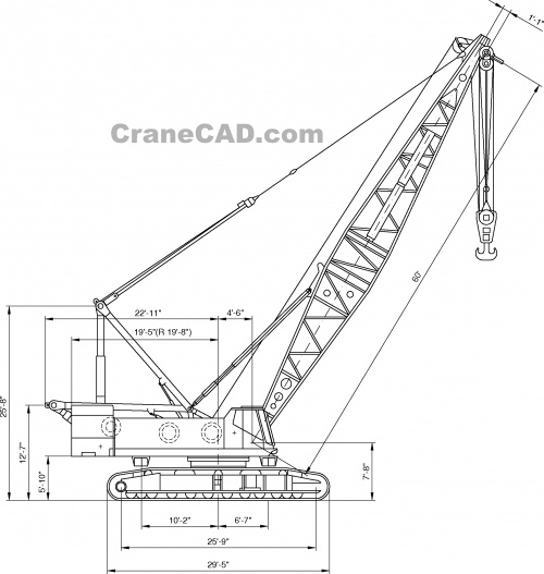 Mobile Crane Cad Block : Best images about cad drawings on