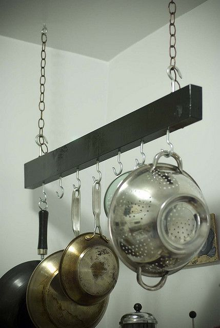 1000 Ideas About Pan Rack On Pinterest Pot Racks