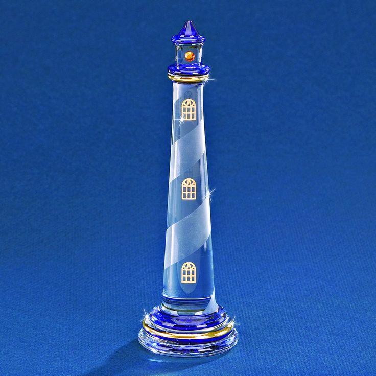 Glass Baron Blue Lighthouse