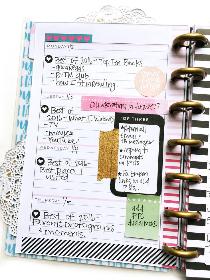 We have noticed more and more of you planner babes using our system to  create 'social media planners'. Today we're sharing how mambi Design Team  members Erica Canant (IG | blog) and Stephanie Howell (IG | blog) dedicated  one of their MINI Happy Planners® to organizing their social me