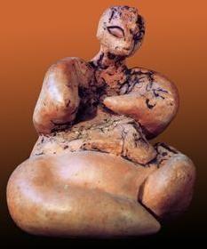 KATAL HUYUK,Turquía, diosa madre del neolitico                                                                                                                                                                                 More