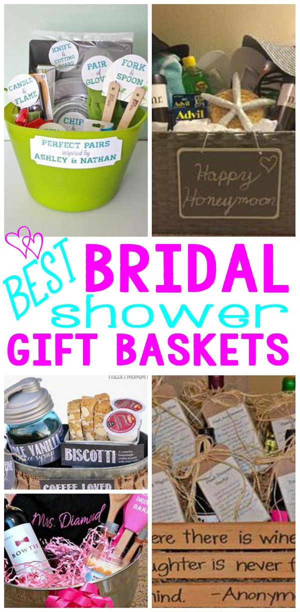 amazing and fun bridal shower gift basket ideas diy ideas cooking cleaning wine and more
