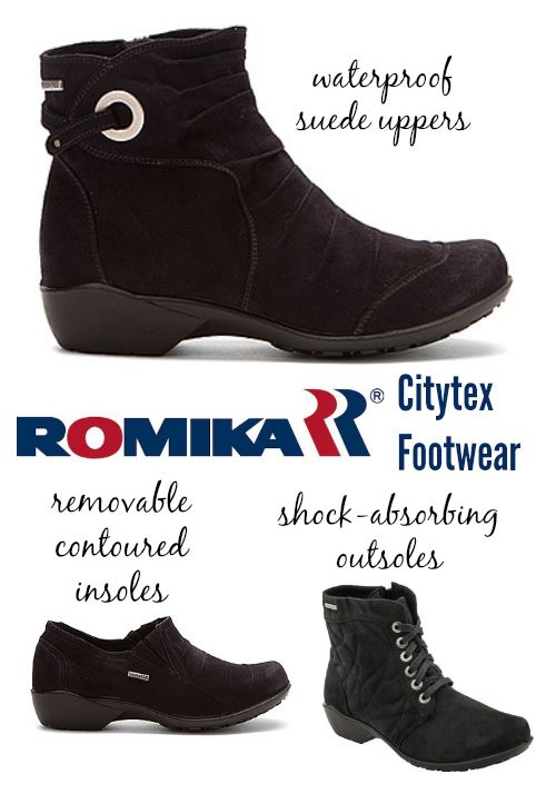 Romika Citytex Footwear: Waterproof, Orthotic-Friendly.