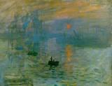 Claude Monet (French, 1840-1926). Impression, Sunrise, 1873. Oil on canvas