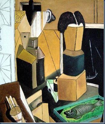 Resultado de imagen para Carlo Carra la habitacion encantada