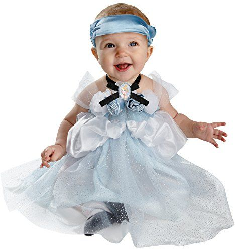 uhc baby girls princess cinderella infant fancy dress child halloween costume 12 18m - Halloween Costume For Baby Girls